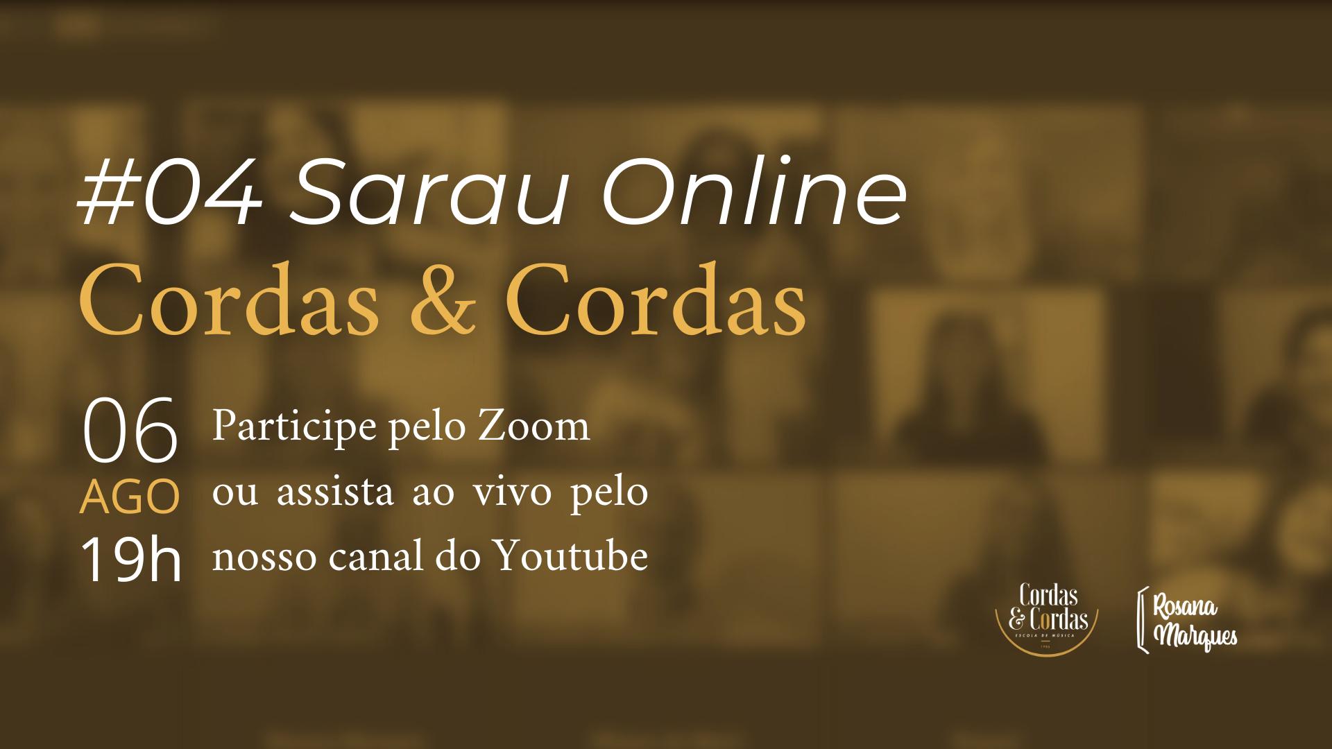 #04 Sarau Online Cordas e Cordas